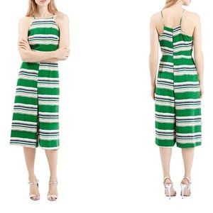 TOPSHOP High Neck Culotte Jumpsuit